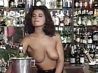 Group Hook-up Scene From Bar Job (1995) With Angelica Bella