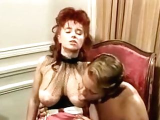 Lovely Sexy Huge-chested Readhead Stunner Retro